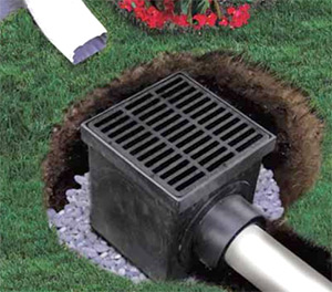Be Careful With Yard Drains Paladin Home Inspections